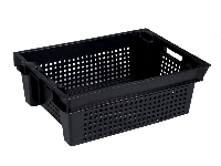 Ящики пластиковые перфорированные 600 x 400 x 200 универсальные