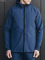 Весенне-осенняя куртка (ветровка) Staff - Soft shell denim Art . BRZ0035 (синий)
