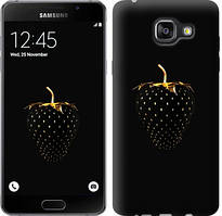 """Чехол на Samsung Galaxy A5 (2016) A510F Черная клубника """"3585c-158-481"""""""