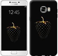 """Чехол на Samsung Galaxy C7 C7000 Черная клубника """"3585u-302-481"""""""