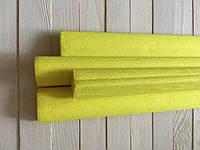 Креп бумага BIBULKA 50*200 см, цвет желтый  Польша