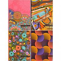 Блокнот А5 «Мандарин» 80 листов, интегральная обложка, пантон 202099/1717-1720/БК65