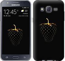 "Чехол на Samsung Galaxy J5 J500H Черная клубника ""3585c-100-481"""
