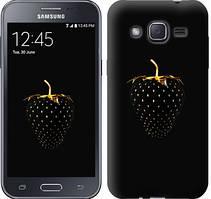 "Чехол на Samsung Galaxy J2 J200H Черная клубника ""3585c-190-481"""