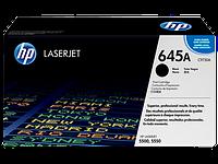 Картридж HP CLJ  645A black, 5500/5550 series (C9730A)