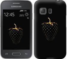 "Чехол на Samsung Galaxy Young 2 G130h Черная клубника ""3585u-206-481"""