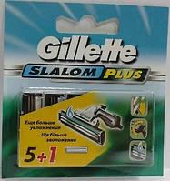 Gillette Slalom Plus сменные кассеты (5+1)