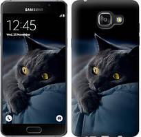 "Чехол на Samsung Galaxy A5 (2016) A510F Дымчатый кот ""825c-158-481"""