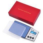 Весы ювелирные в подарочной упаковке A01 100г (0.01), карманные ювелирные аптечные электронные весы
