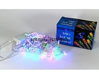 Новогодняя гирлянда LED 100 M-1 RGB COLOR, гирлянда светодиодная разноцветная