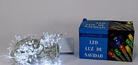 Гирлянда светодиодная белая LED 200 W-1 (200 светодиодов), новогодняя гирлянда