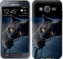 "Чехол на Samsung Galaxy J5 J500H Дымчатый кот ""825c-100-481"""