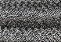 Сетка-рабица плетенная оцинкованная