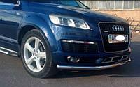 Защита переднего бампера Audi Q7 2005- ST008