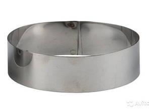 Акция на металлические круги для выпечки