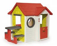 """Дом """"На берегу моря"""" со столом и звонком, 154х135х120см, 2+"""