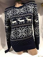 Женский свитер размер универсал олени оптом