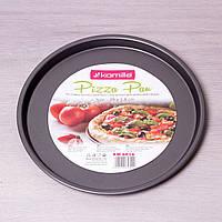 Форма для пиццы Kamille 6016 29*2 см из углеродистой стали