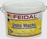 Воск для декоративной штукатурки Dekowachs Feidal 1л