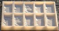 Силиконовая и полиуретановая формы для гипсовой плитки Рваный Кирпич