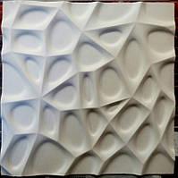 3D панели Паутинка из гипса