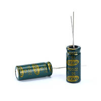 Конденсатор электролитический 2200мкФ 16В 105С, 10шт.