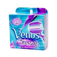 Gillette VENUS Breeze,Сменные кассеты для станка (8 шт.)