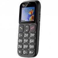 Мобильный телефон FLY Ezzy 7 Black 'бабушкофон', 2 Sim