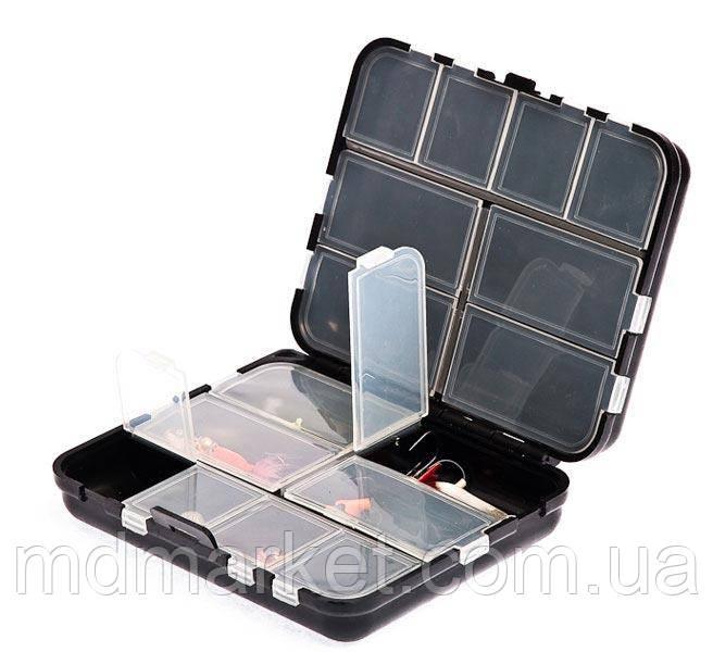 Коробка  Aquatech 2416 (двойная с крышкой 16 ячеек)