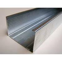 Профиль для гипсокартона Кнауф UW-Profile 3м (100/ 40/ 0,6)