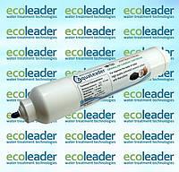 Постуголь антибактериальный для системы обратного осмоса AquaLeader (с фиттингом)