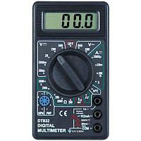 Цифровой мультиметр с жк дисплеем 832, мультиметр универсальный, тестер мультиметр, мультиметр с дисплеем