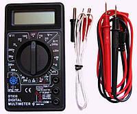 Многофункциональный цифровой тестер 838, мультиметр универсальный, цифровой мультиметр с жк дисплеем