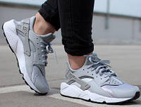 Мужские Nike Air Huarache Grey Premium 41, фото 1
