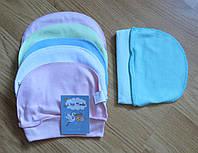 Детская шапочка  (интерлок, на 2 месяца)