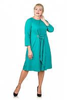 Платье Карла бирюза, фото 1