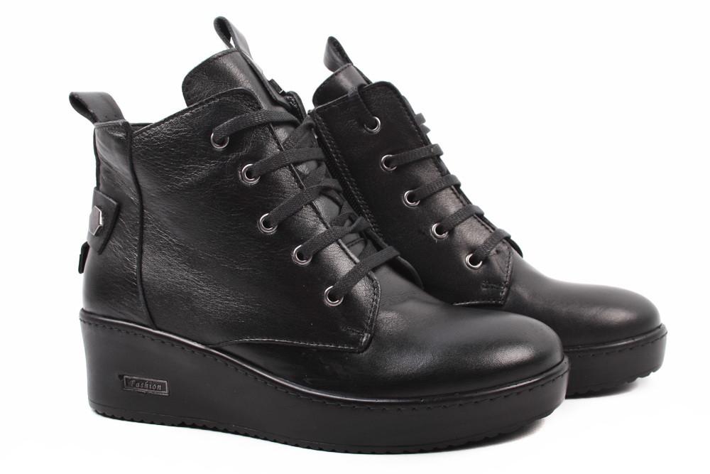 5e85187ad Ботинки женские Molly Bessa натуральная кожа, цвет черный (ботильоны,  платформа, весна\