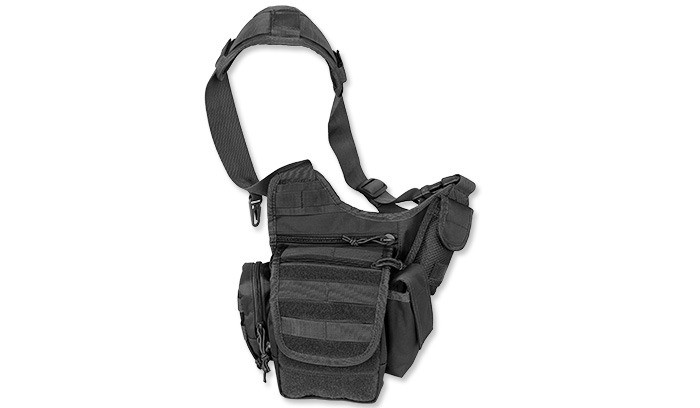 Сумка через плечо MilTec MULTIFUNCTION SLING BAG Black 13726502