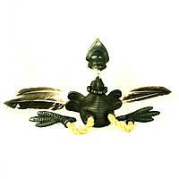 Фигурка керамическая ручной работы Ворона в полете