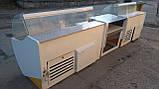 Витрины холодильные Технохолод 1,25 м.,1,55 м. прикассовое место б/у., фото 3