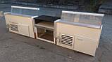 Витрины холодильные Технохолод 1,25 м.,1,55 м. прикассовое место б/у., фото 4