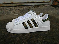 Adidas Superstar\Адидас Суперстар, белые, классик, КТ11002