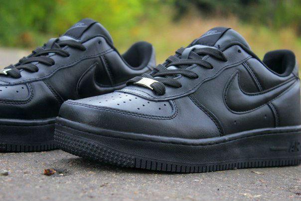 8df2a91c765f Кроссовки Nike Air Force Найк Аир Форс, черные, низкие, КТ11012 ...