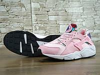 Женские Nike Air Huarache Pink, фото 1
