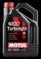 Масло моторное 10W-40 (5л.) MOTUL 4100 TURBOLIGHT 10W40