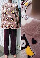 Комплект кофта и штаны из махры 42-54 р. Совы