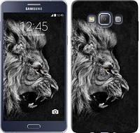 """Чехол на Samsung Galaxy A7 A700H Лев """"1080c-117-481"""""""