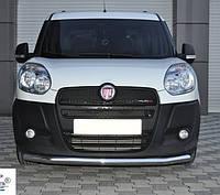 Защита переднего бампера Fiat Doblo 2010-2015 ST008, фото 1