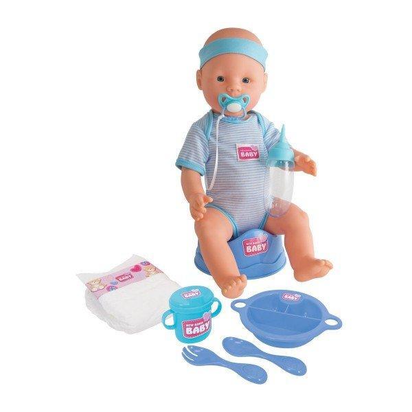 Пупс функциональный с аксессуарами New Baby Simba 5030044
