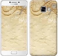 """Чехол на Samsung Galaxy C7 C7000 Кружевной орнамент """"2160u-302-481"""""""